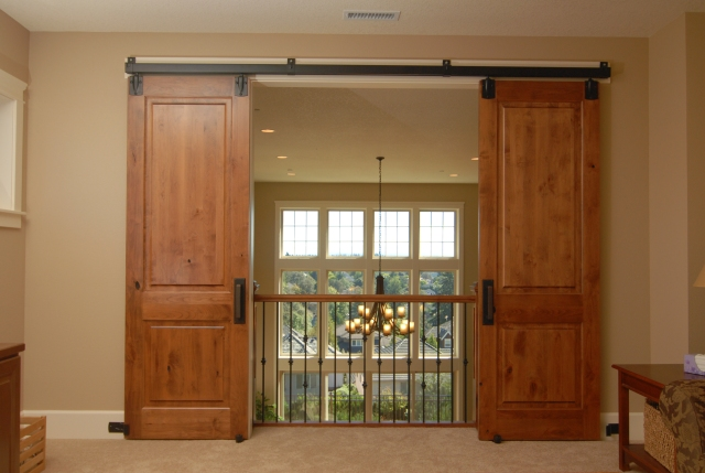 Guest post installing barn sliding doors renovations for Hanging a sliding barn door